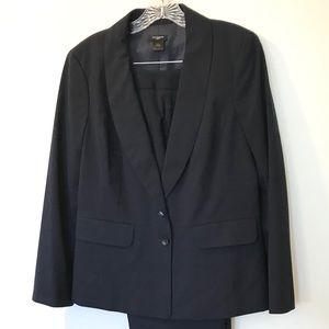ANN TAYLOR Navy Cotton Jacket & Pants 12